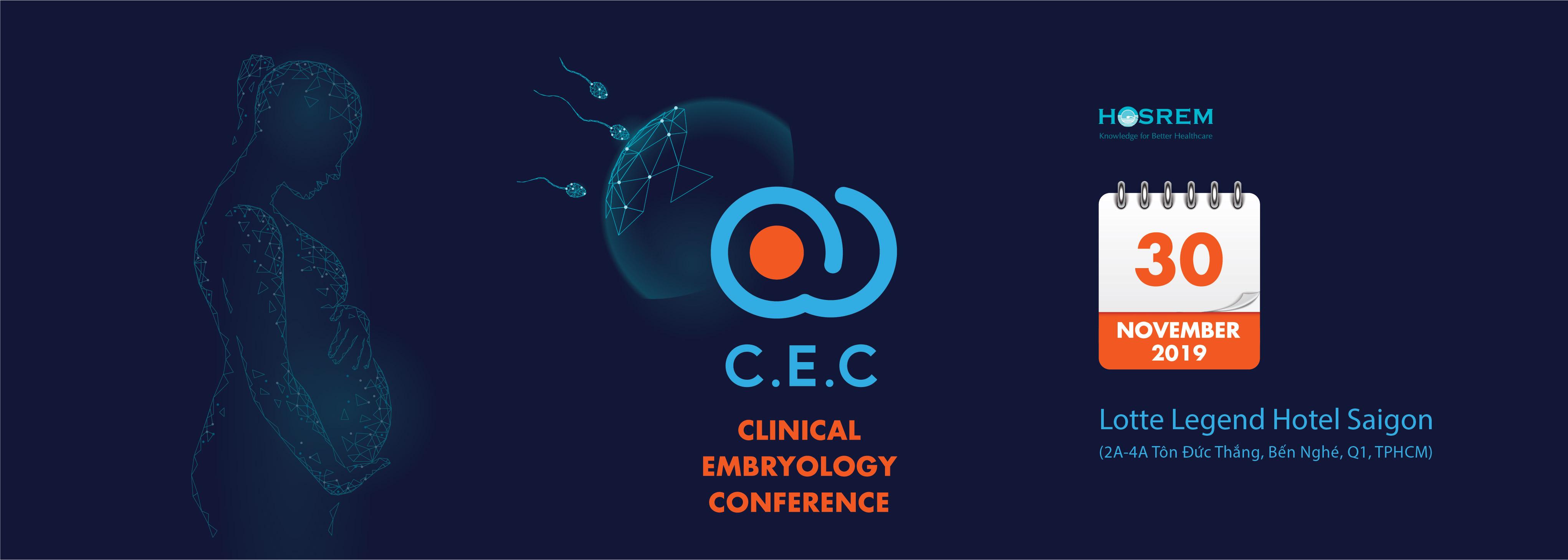 Chương trình CEC – Clinical Embryology Conference 2019